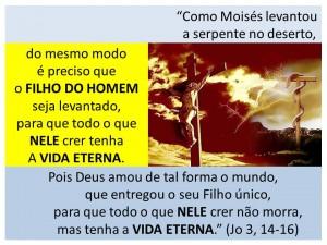 Moises levantou a serpente-2