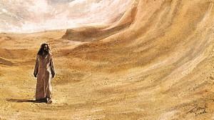 jesus no deserto tentado