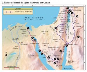 02Exodo de Israel do Egito e Entrada em Canaa